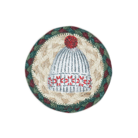 IC-508 Winter Hat Individual Coaster