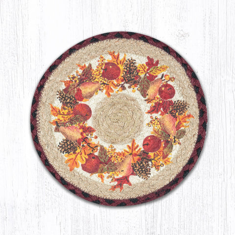 MSPR-431 Autumn Wreath Trivet