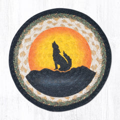 MSPR-469 Coyote Silhouette Trivet