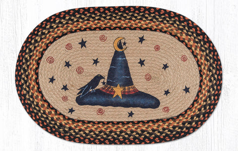 OP-222 Witch Hat Oval Rug