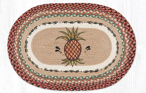 OP-375 Pineapple Oval Rug