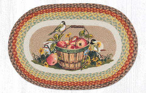 OP-426 Apple Chickadee Oval Rugs