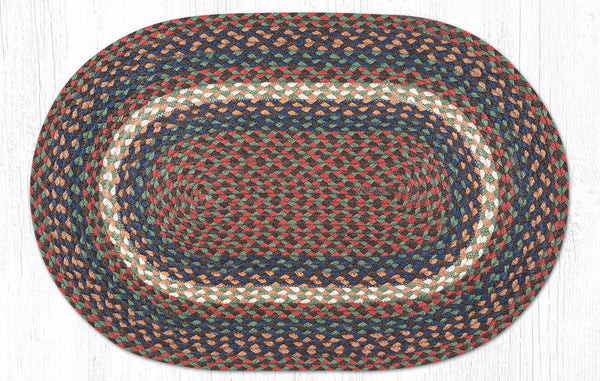 C 040 Burgundy And Gray Braided Rug The Braided Rug Place