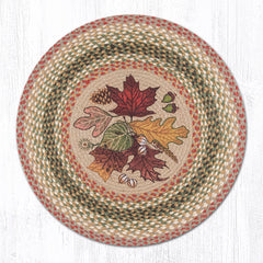 RP-024 Autumn Leaves Round Rug