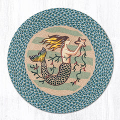 RP-245 Mermaid Round Patch Rug