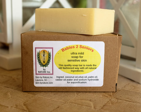 """Babies to Seniors"" Bar Soap"