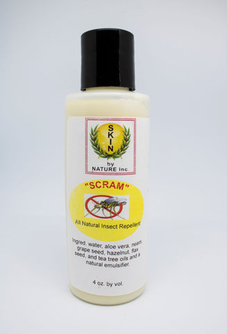 """Scram"" Insect Repellent lotion or paste"