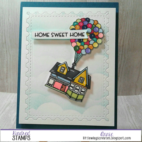 Home Sweet Home - Up For An Adventure Stamp Set