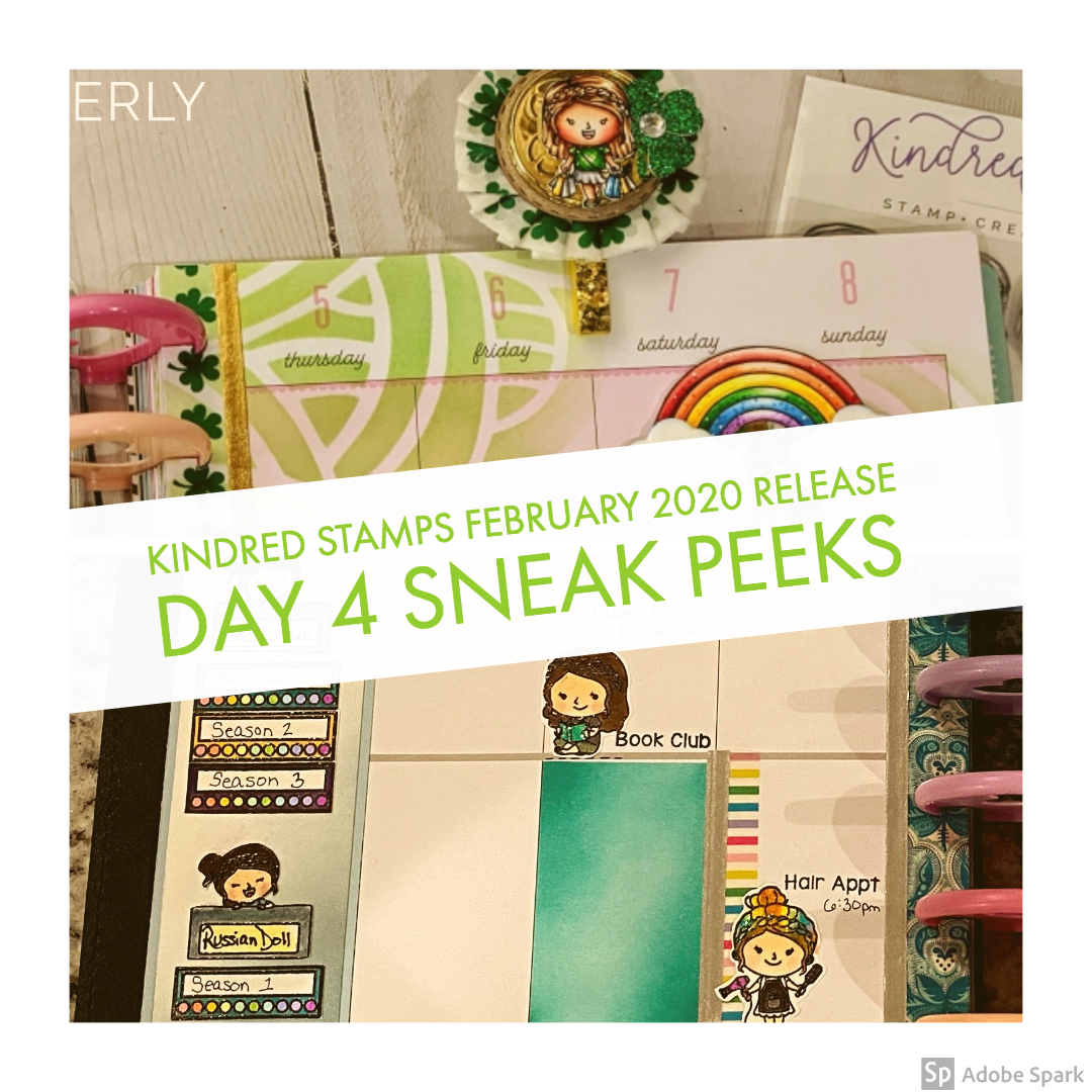 February Release Day 4: Kindred Stamper and Kindred Plans: Hobbies and Friends