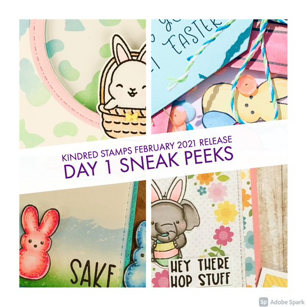 February Release Day 1: Bunny Buddies and Easter Treats