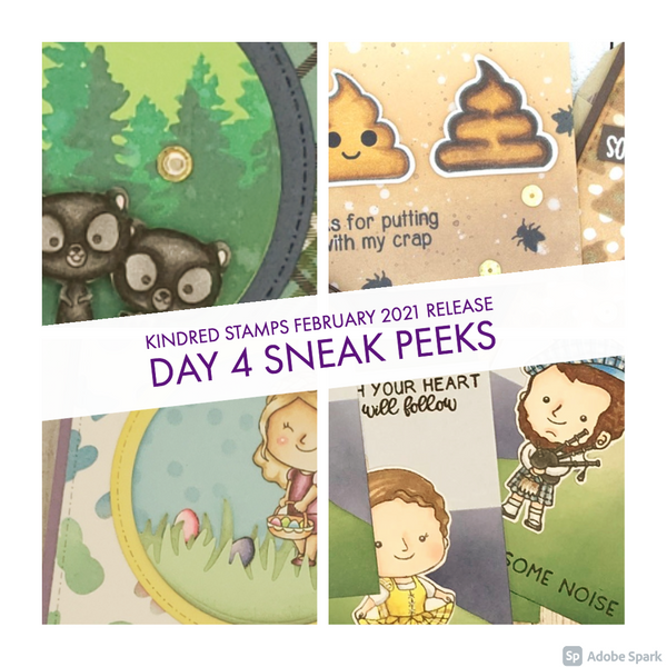 February Release Day 4: Bear Hugs and Monthly sets