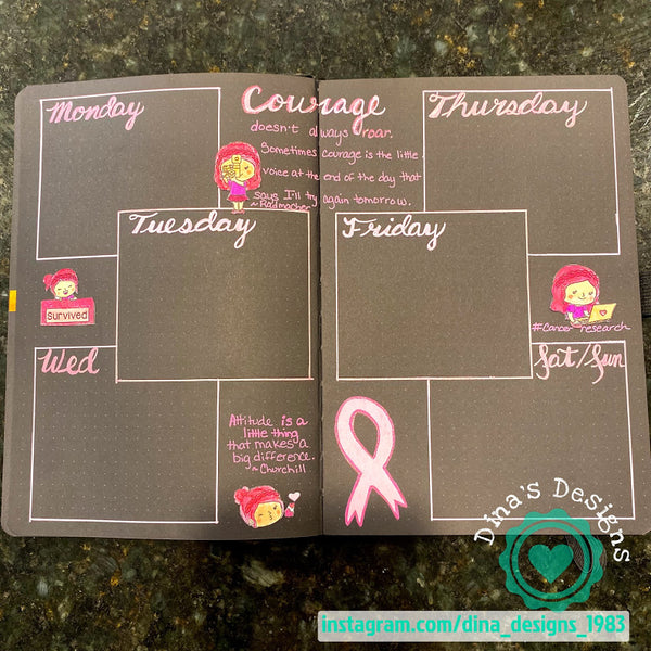 Planner Annie: Breast Cancer Awareness