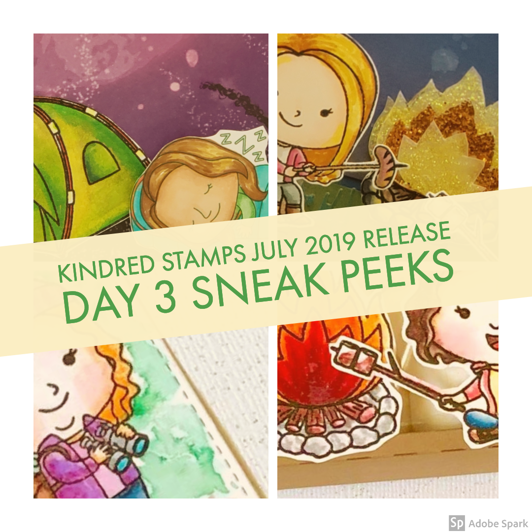 July Release Day 3: Kindred Camping