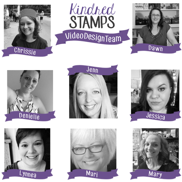 Introducing our FIRST Kindred Stamps Video Design Team!