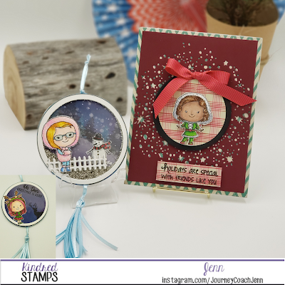 Christmas in July -  Kindred Christmas stamp set