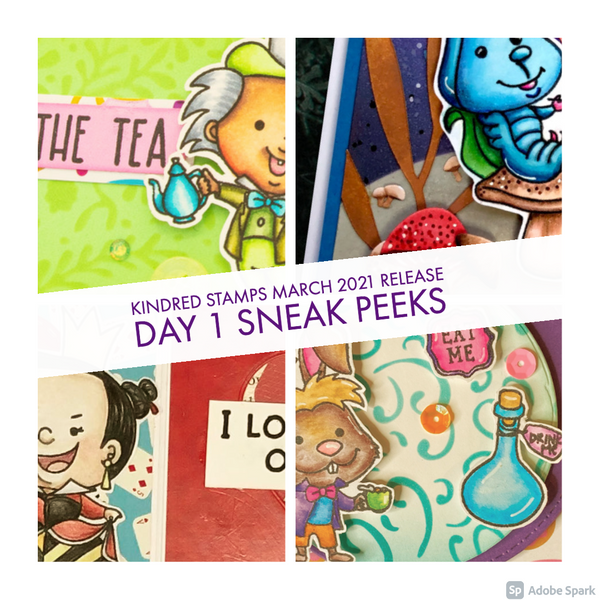 March Release Day 1: Curiouser and Curiouser & Time For Tea