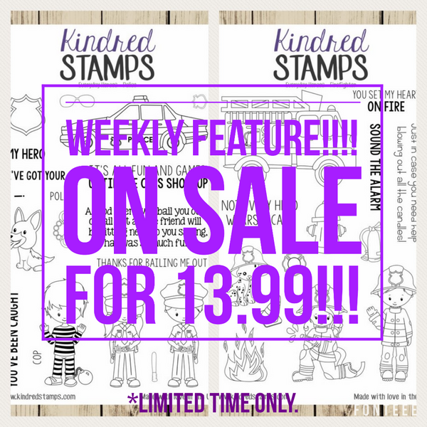 Kindred Stamps: Weekly Stamp Feature 8/11/17