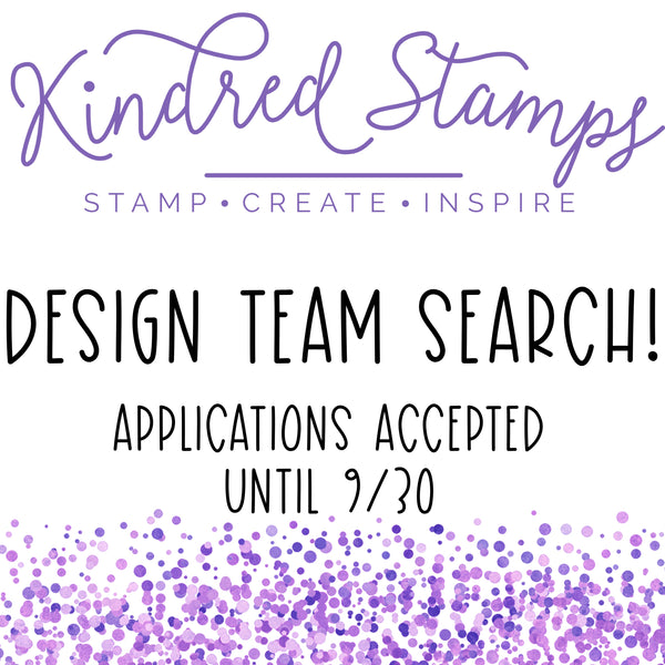 Design Team search now open!