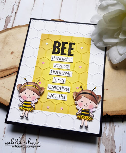 BEE... Encourage Card by Waleska