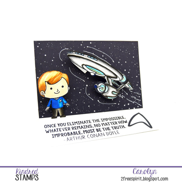 Space Explorers Card...