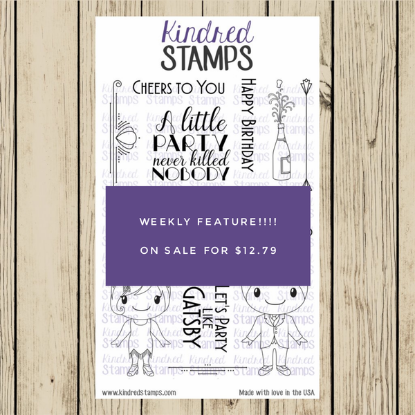 Kindred Stamps Weekly Feature 12/1/2017