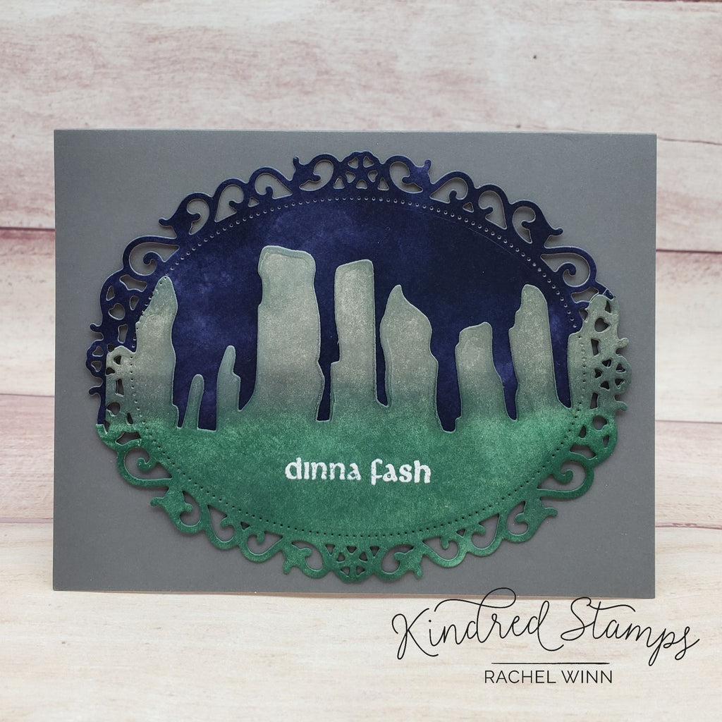 Standing Stones Craft Die