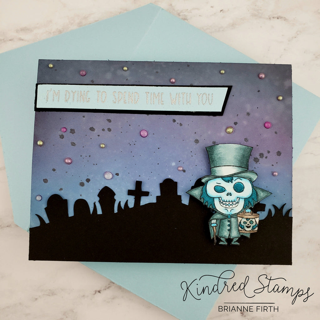Graveyard Scene Craft Die