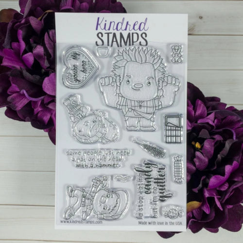 Kindred Stamps Arcade Friends Stamp Set