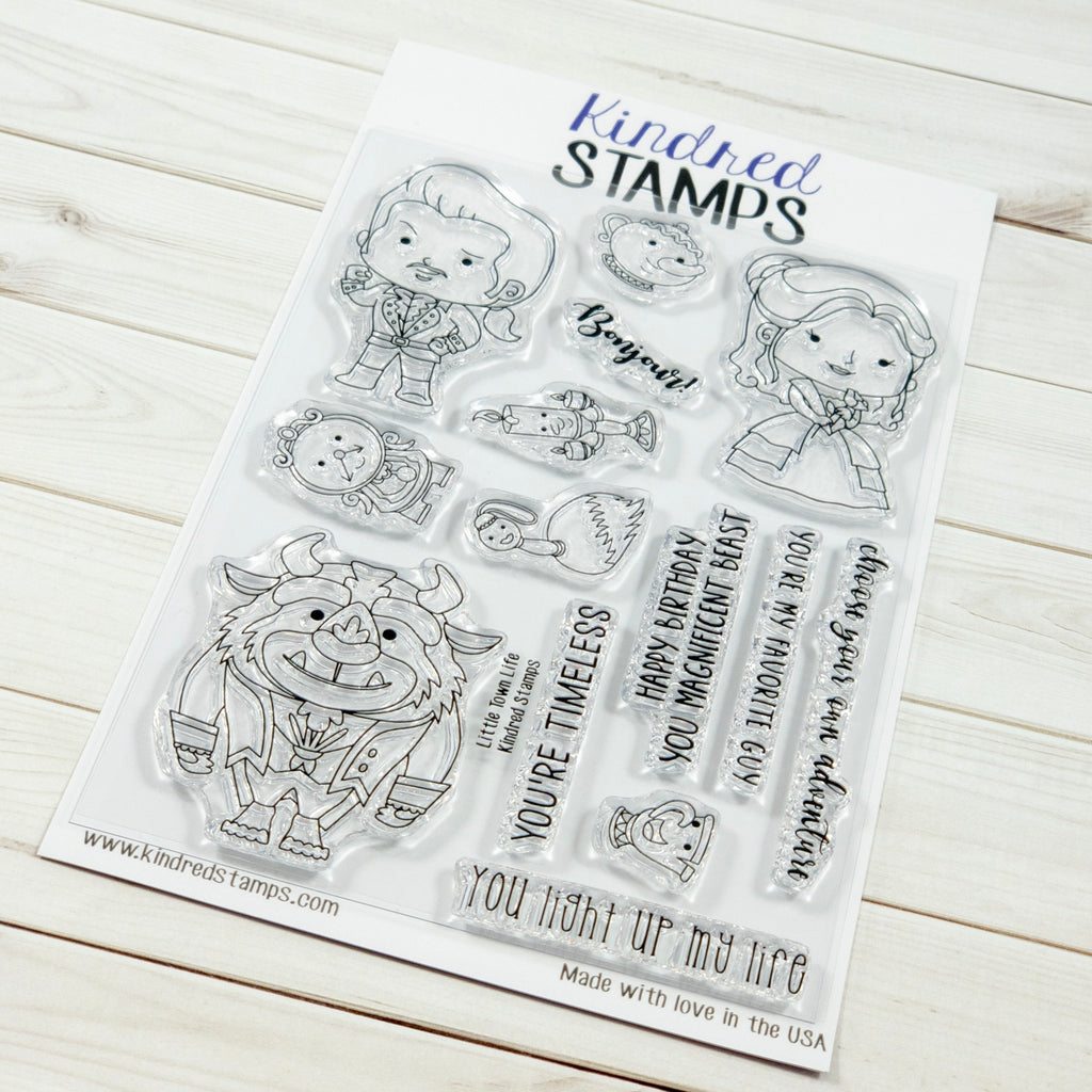 Little Town Life Stamp Set