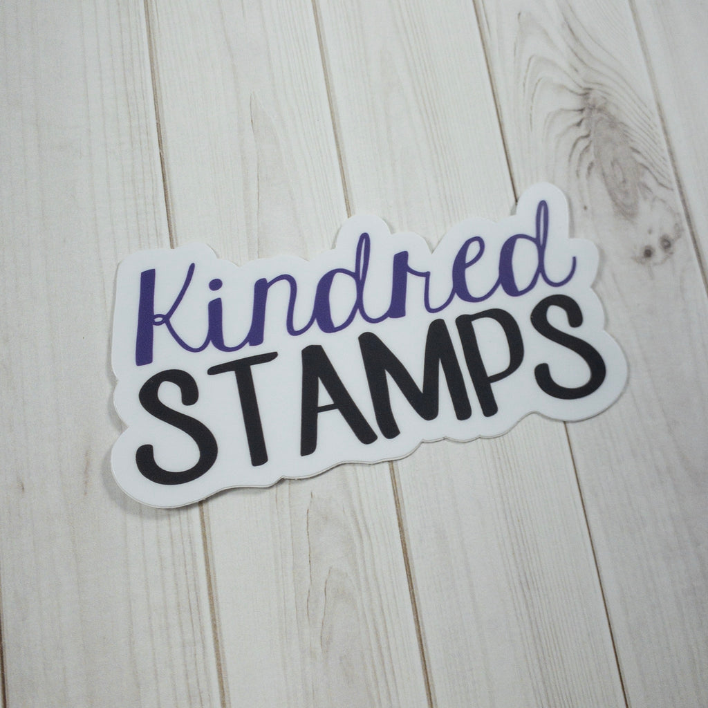 Kindred Stamps Die Cut Stickers