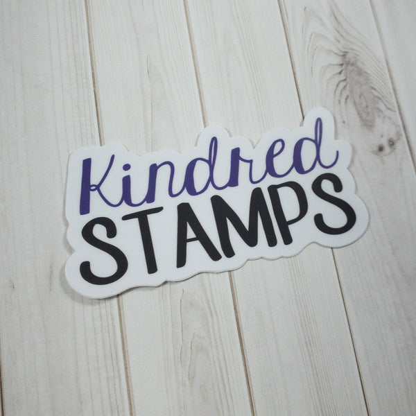 LAST CHANCE Kindred Stamps Die Cut Stickers