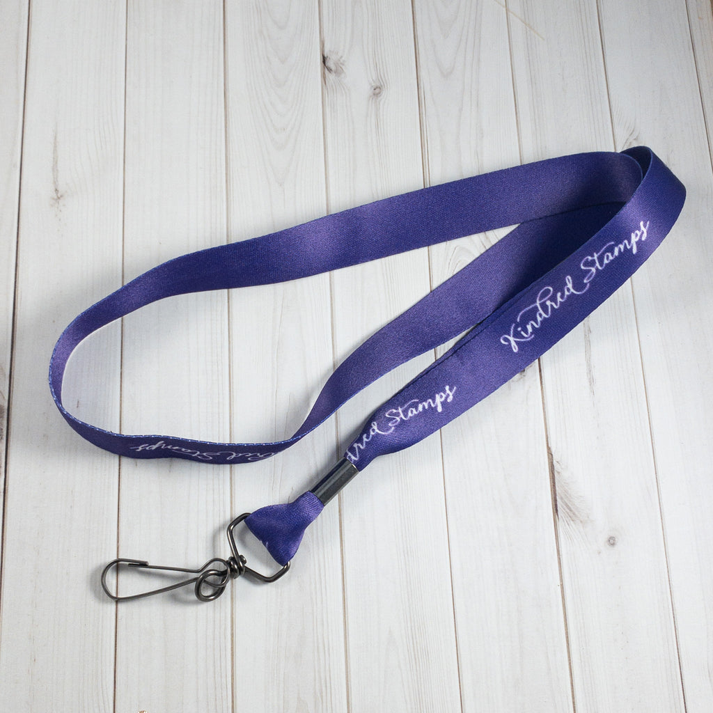 Kindred Stamps Lanyard
