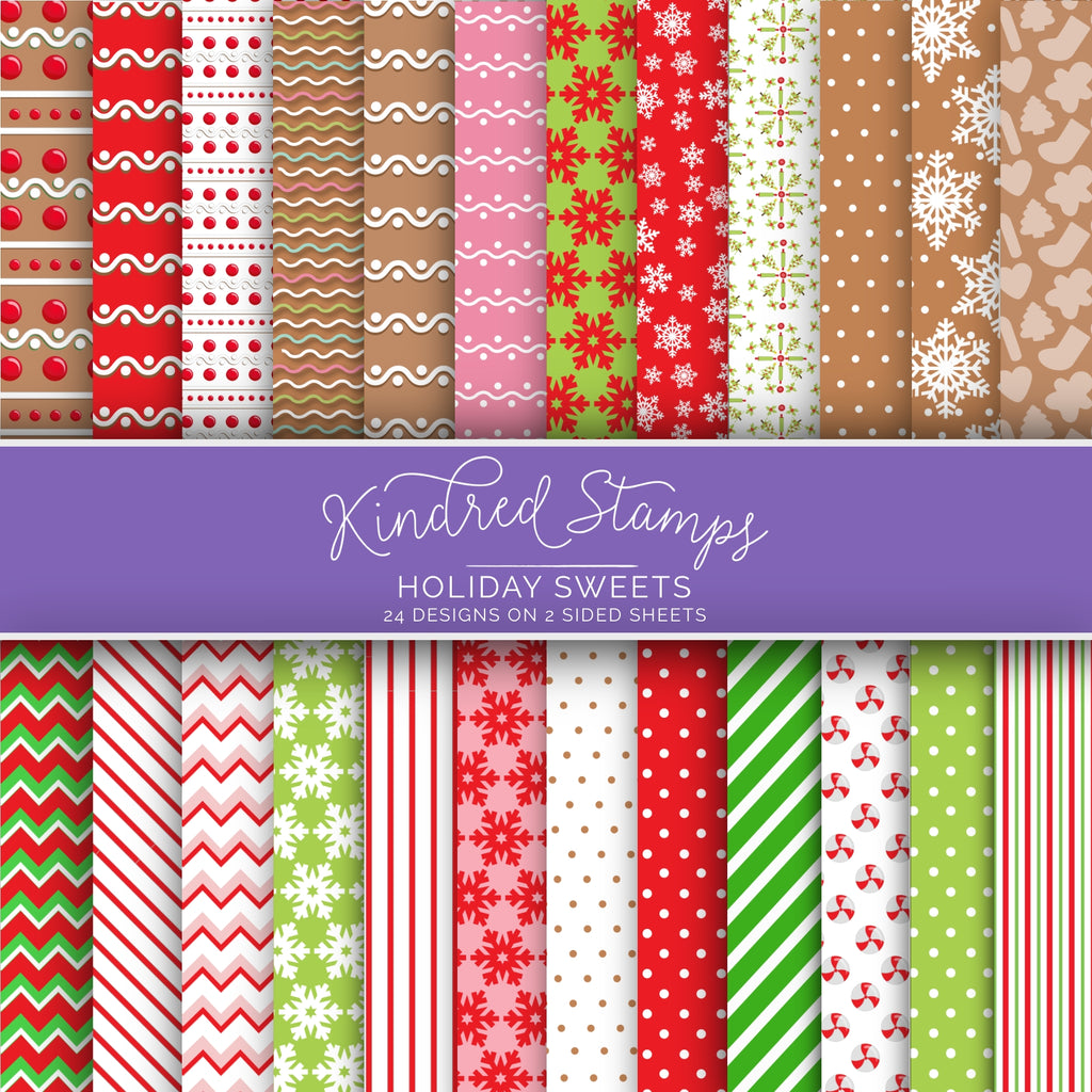 Holiday Sweets Paper Pack