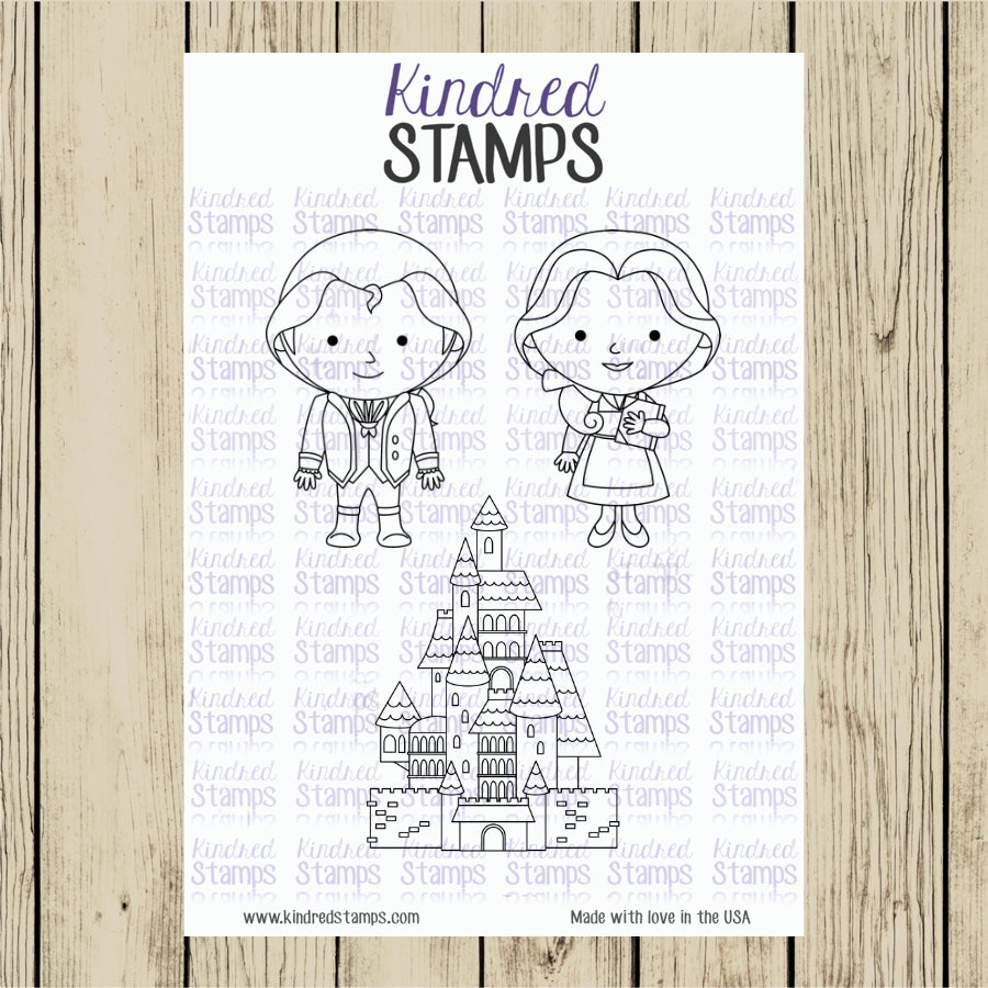 Little Town Life Bonus Digital Stamp Set