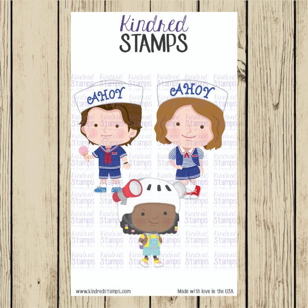 Stranger Friends Digital Stamps