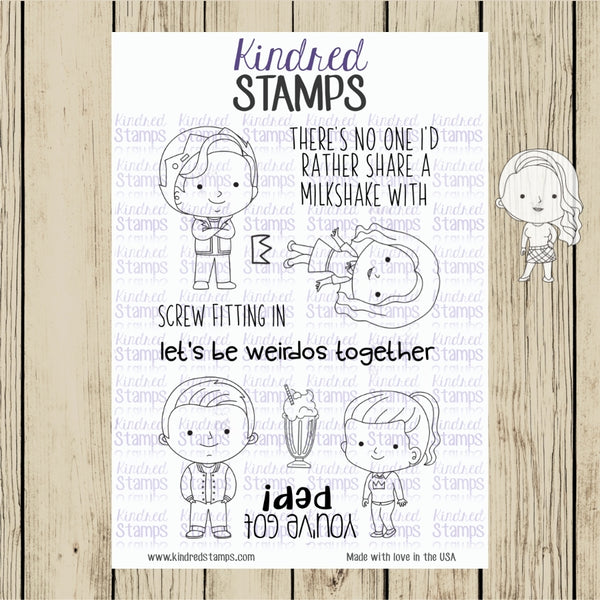 Friends with Pep Digital Stamps