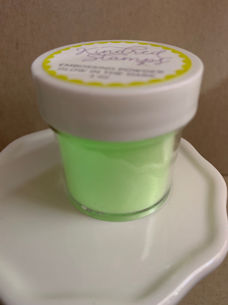 Glow in the Dark Embossing Powder