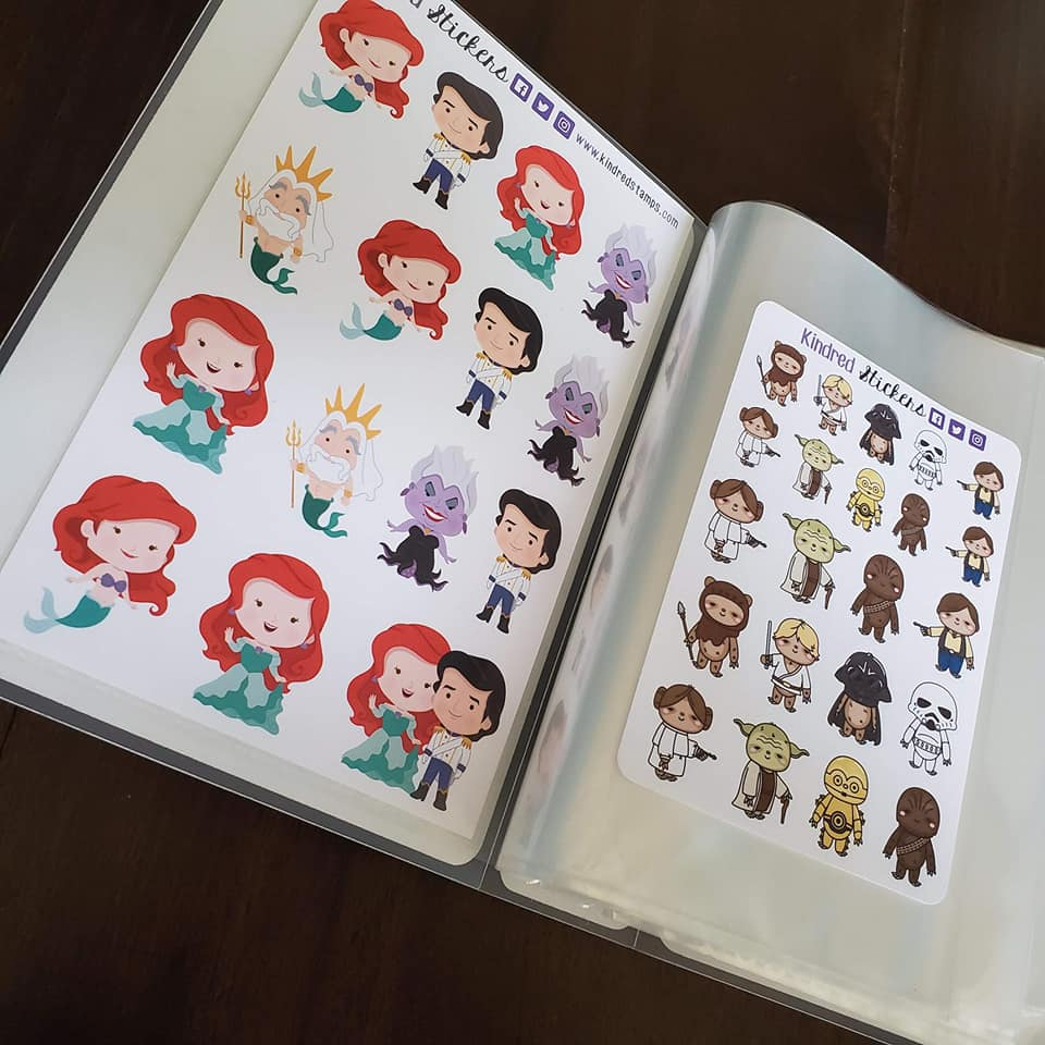 Mermaid Scales Sticker Album