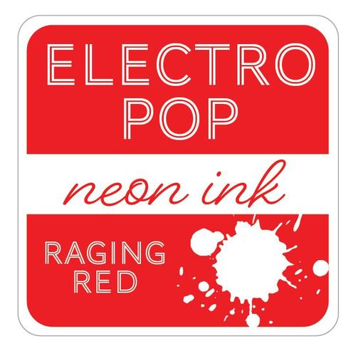 Electropop Ink Pad - Raging Red