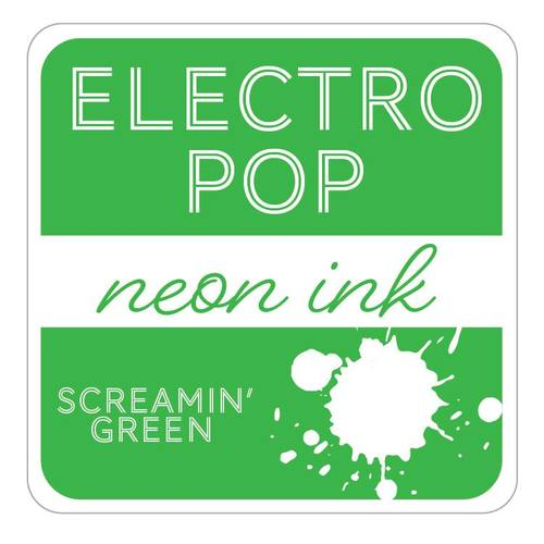 Electropop Ink Pad - Screamin' Green