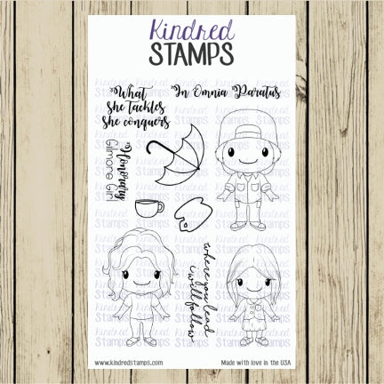Small Town Girls Digital Stamp