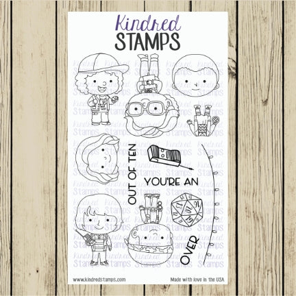 Strange Friends Digital Stamp