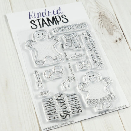 Kindred Stamps Sweet Cookies Stamp Set