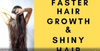 Natural treatments for faster hair growth, dandruff & dry, brittle hair!