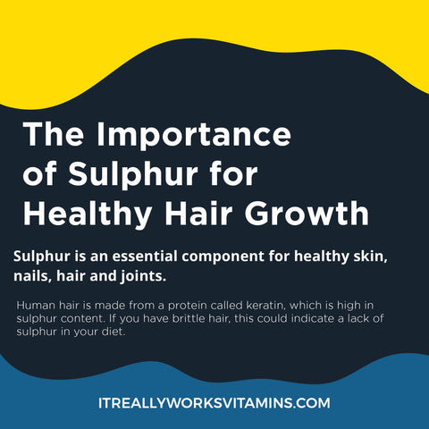 Sulphur for hair growth