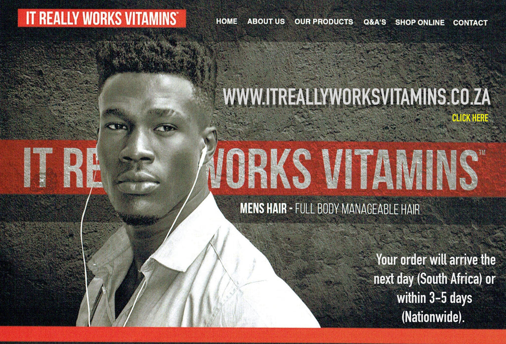 It Really Works Vitamins Africa - Hair Growth Vitamins South Africa Express Shipping