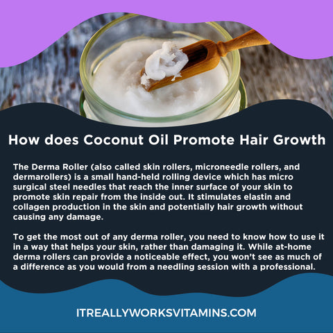 coconut oil for dandruff and hair growth