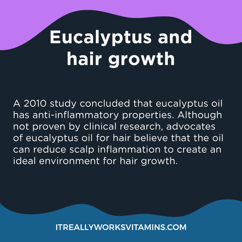 Eucalyptus Oil for Hair Growth and removing Dandruff