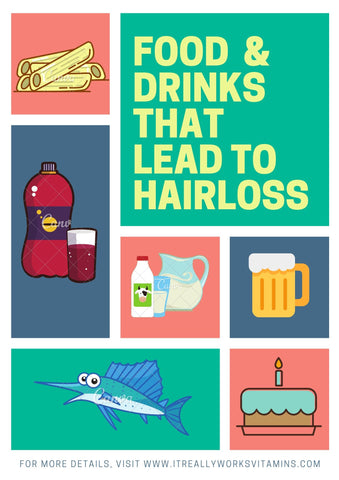 The Best Best Food and Drinks for Hair loss