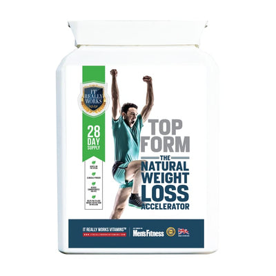 Top Form Natural Weight Loss Accelerator (28 Day Supply) - Herbal Weight Loss Accelerator